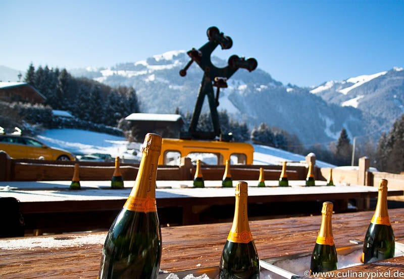 Bergblick bei Clicquot in the Snow