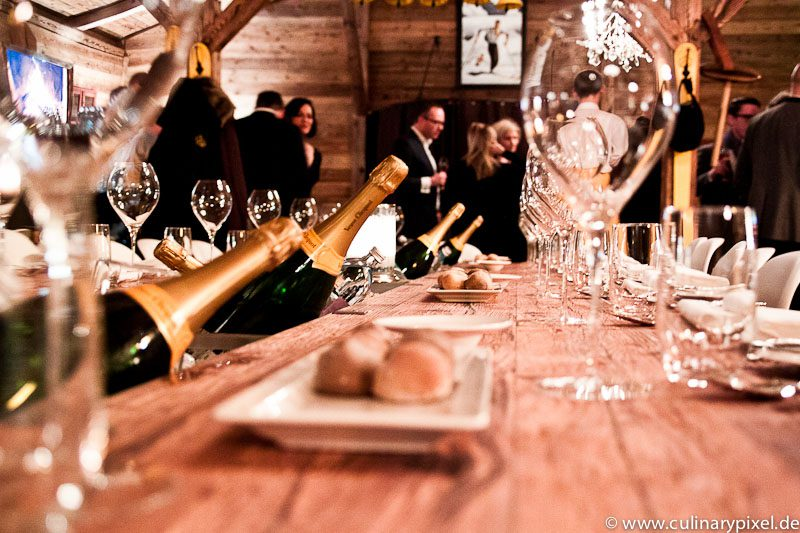 Vintage Dinner Veuve Clicquot