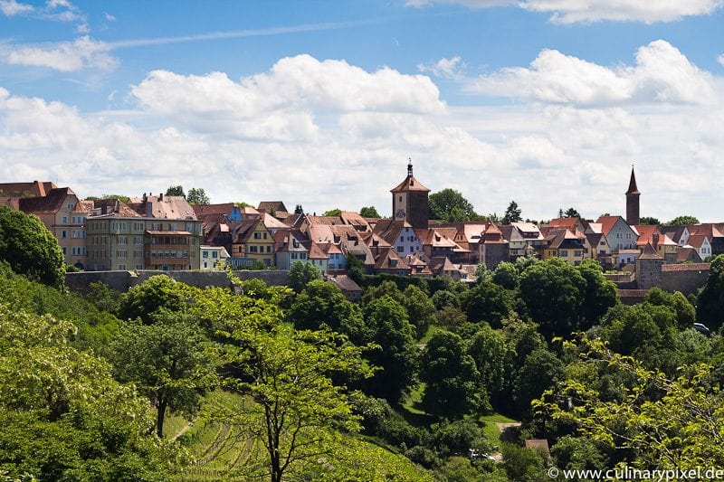 Rothenburg ob der Tauber Panorama