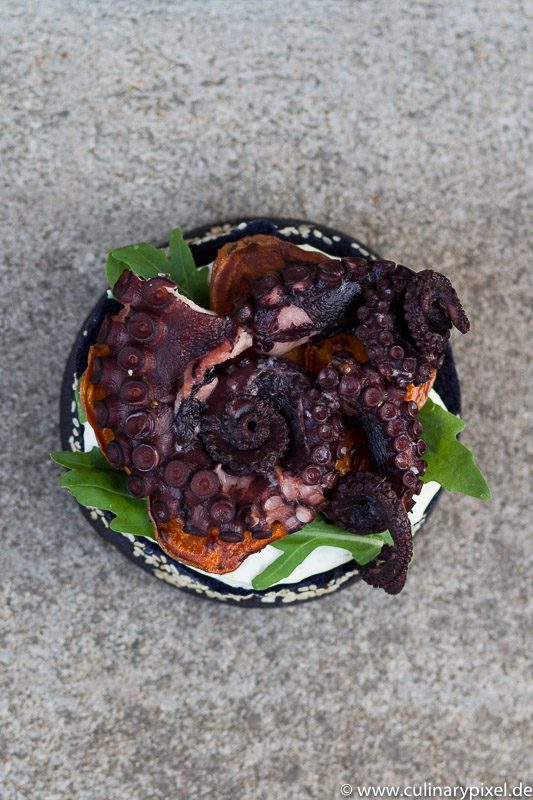 Pulpo Burger - Octopus Burger