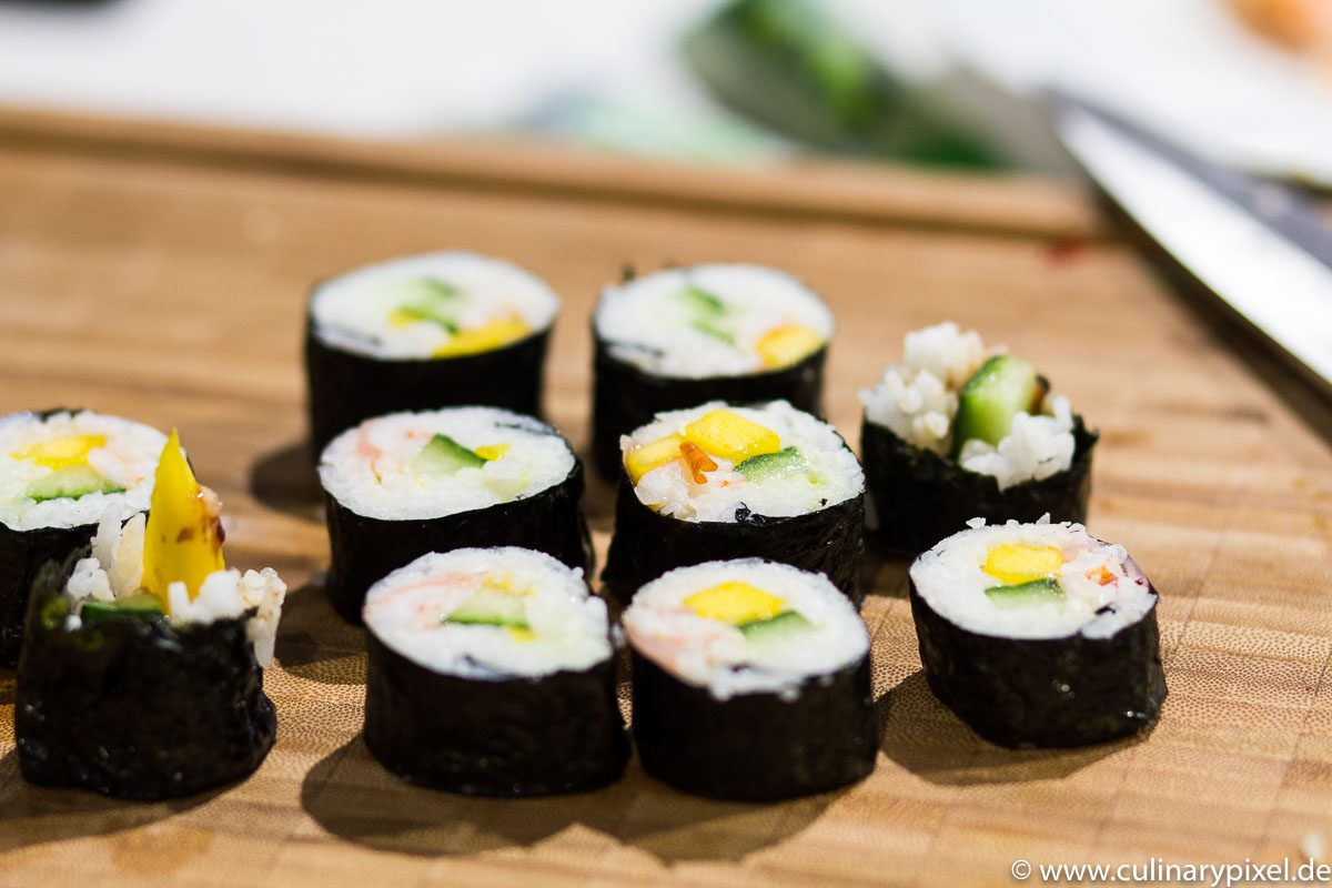 Selbstgemachtes Sushi