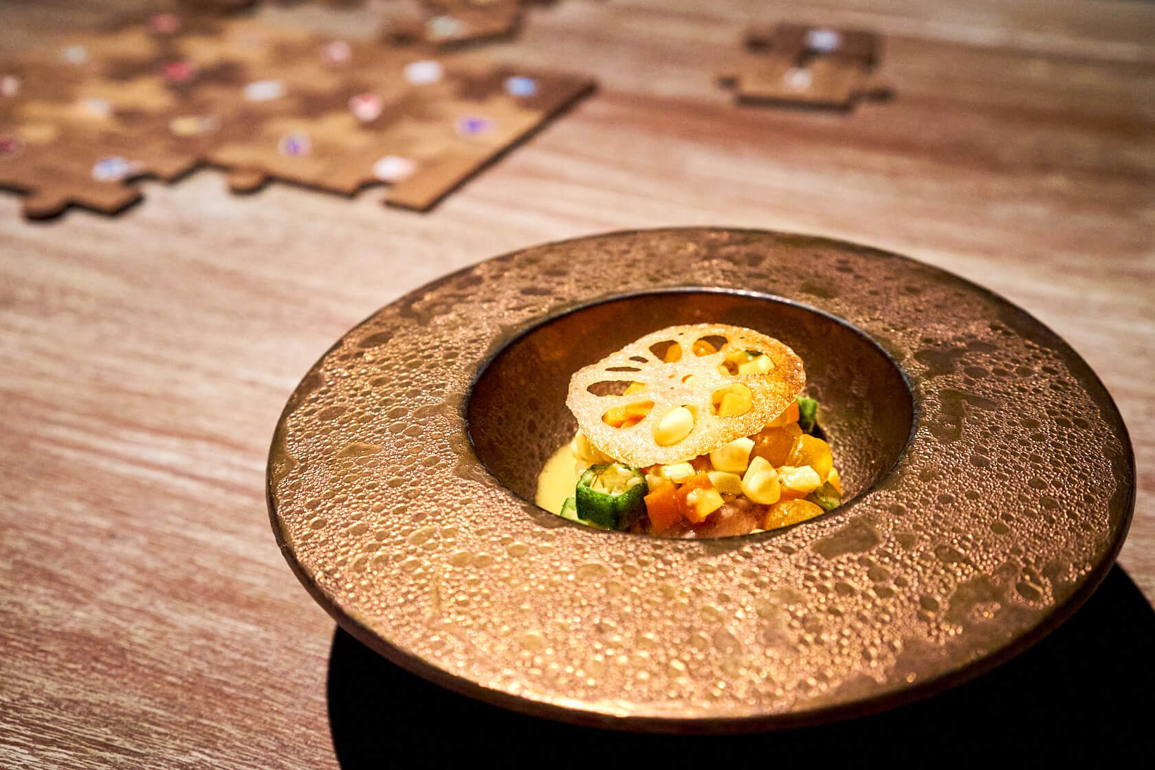 Bird Cooked in a Composite Gaggan Anand G's Spot