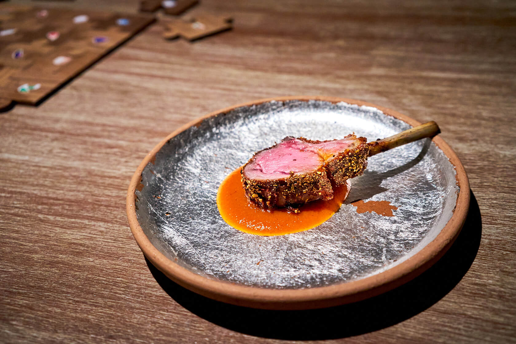 Laal Mass = Red Meat Gaggan Anand G's Spot