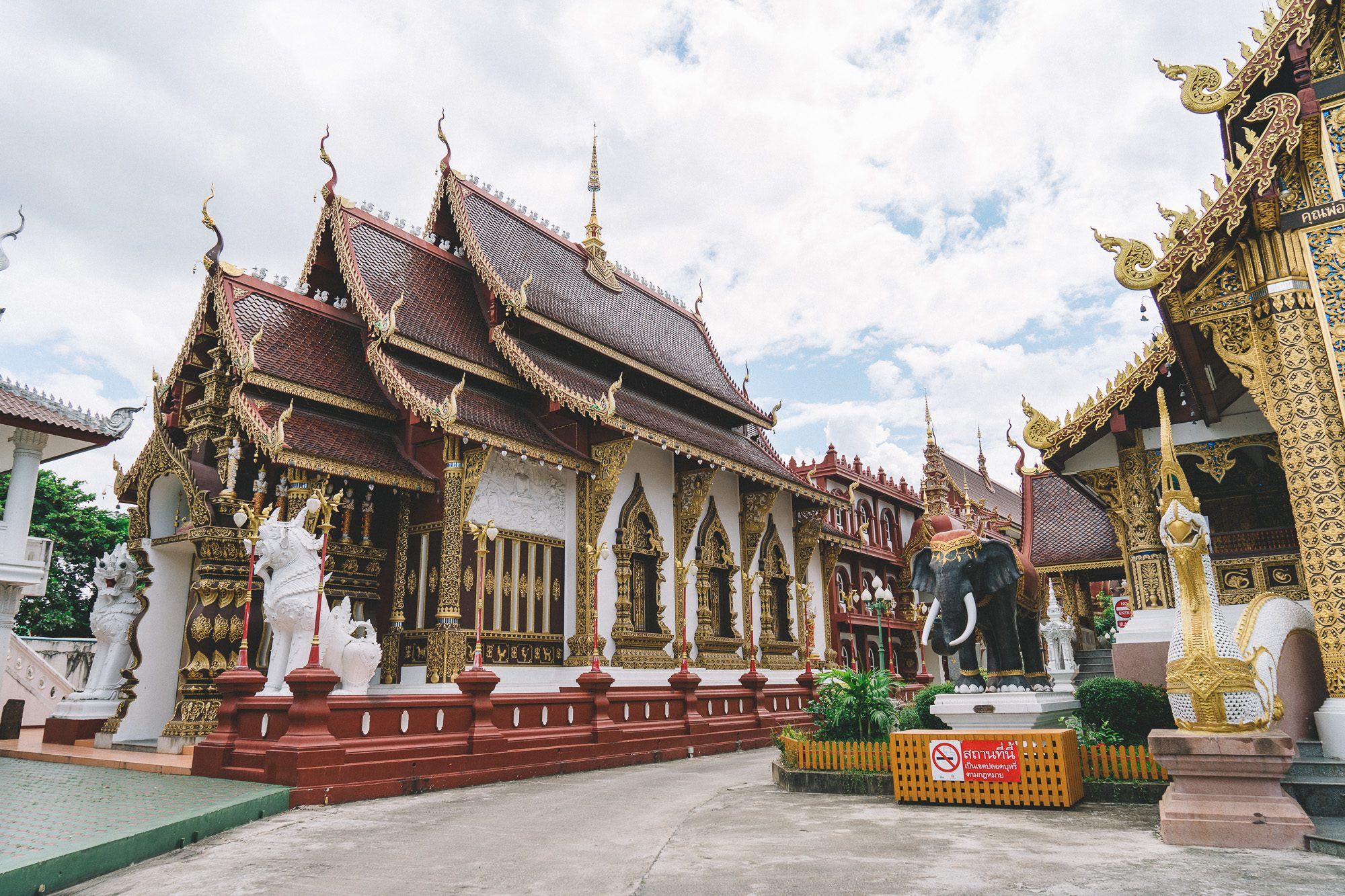 Schöne Tempel in Chiang Mai Old Town | culinary pixel